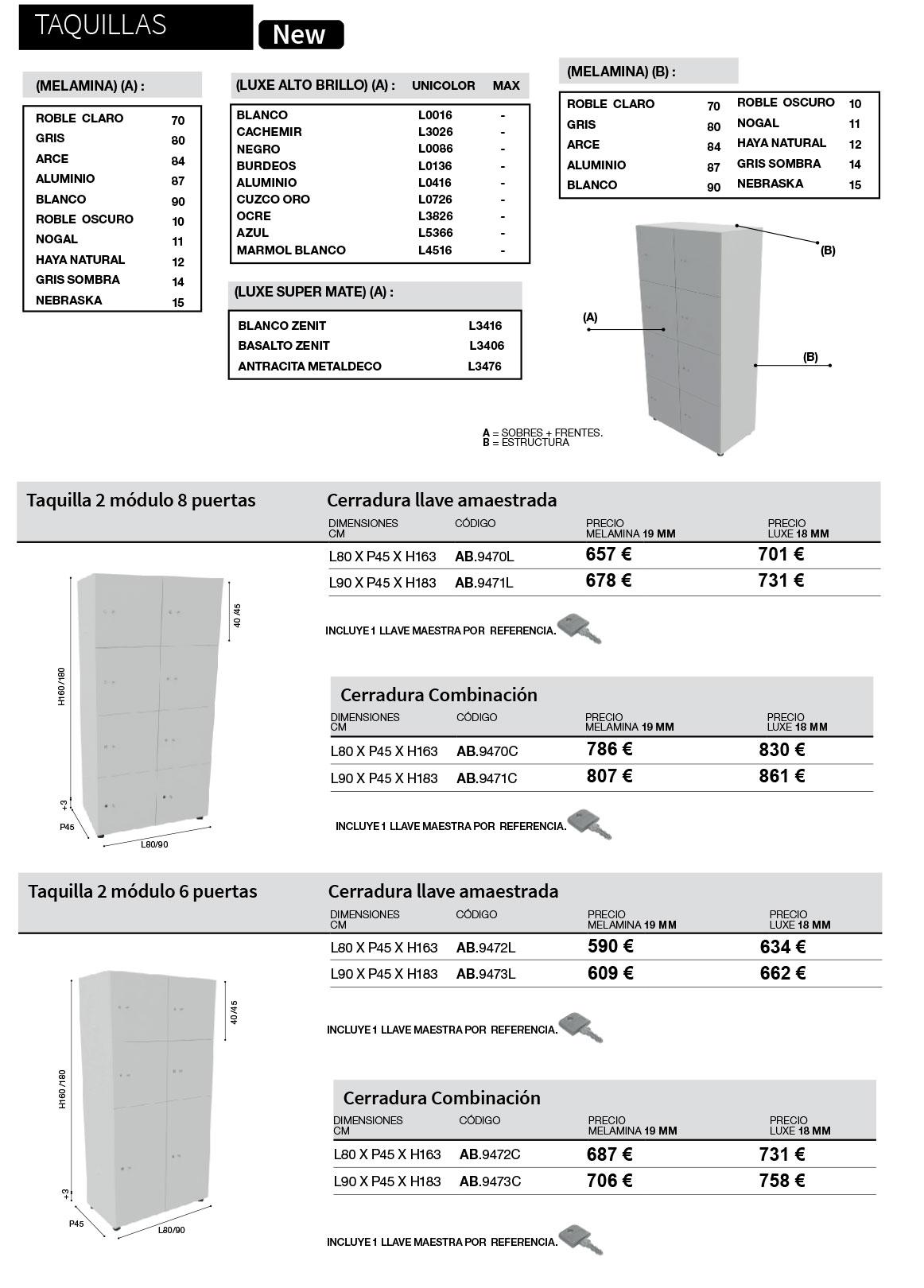 Armarios Taquillas Premium