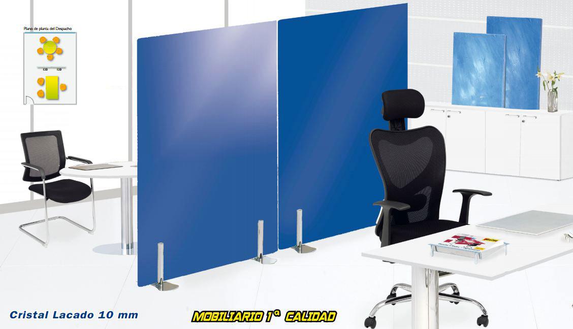 Cristal design disponible en panel2000 las mejores for Mobiliario de oficina ocasion