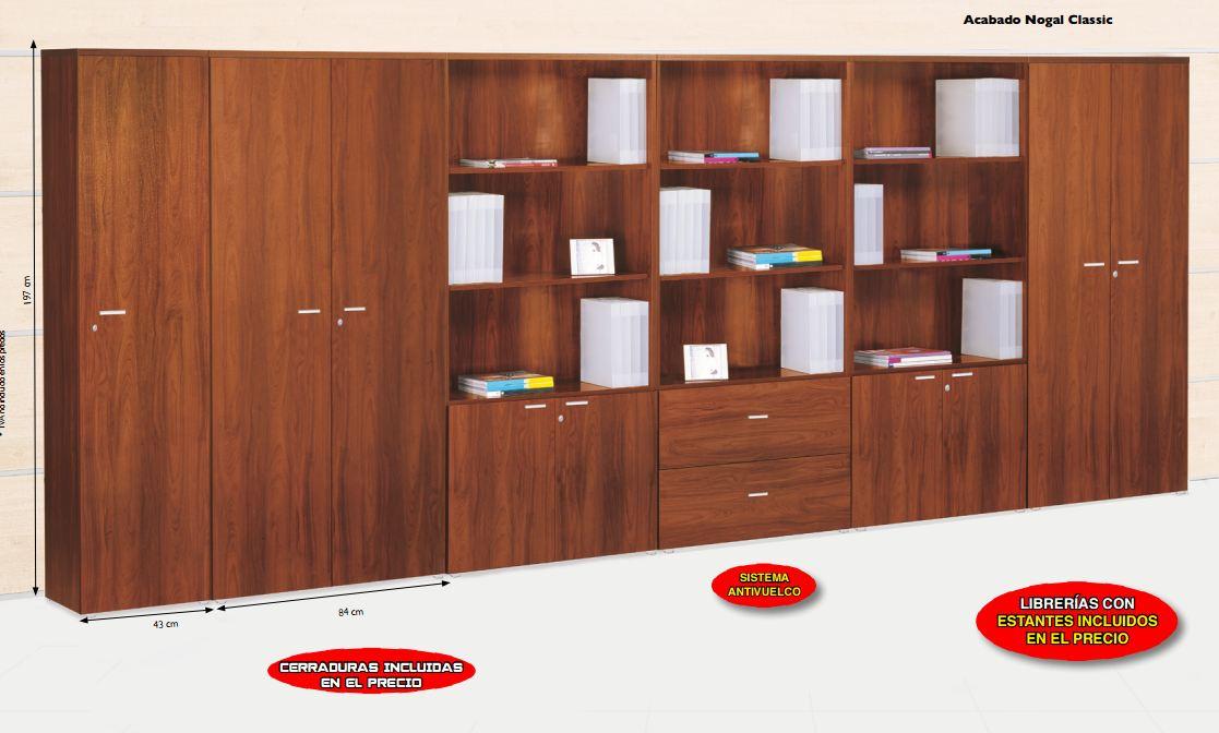 Master librerias disponible en panel2000 las mejores for Ofertas muebles de oficina
