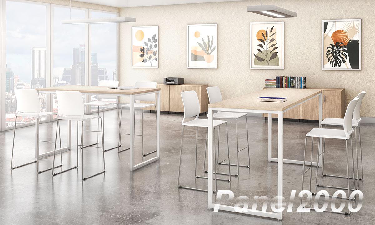 Muebles para un espacio de Coworking
