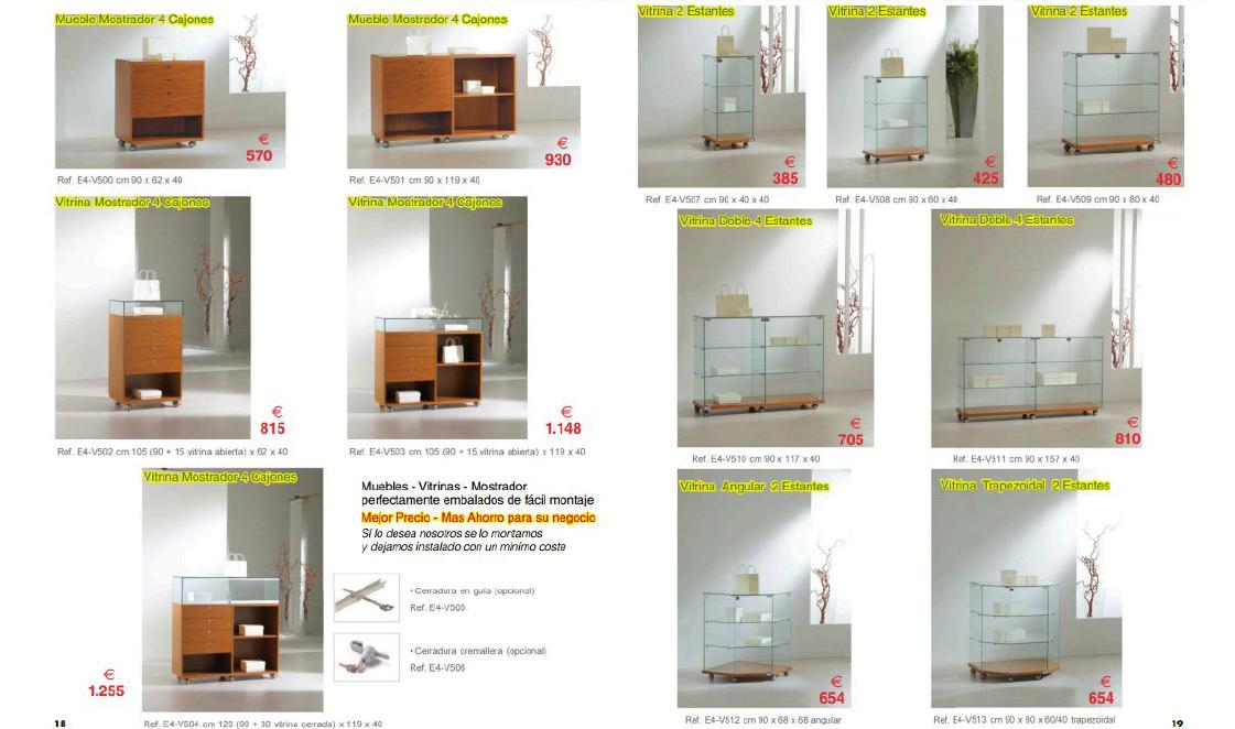 Mobiliario comercial