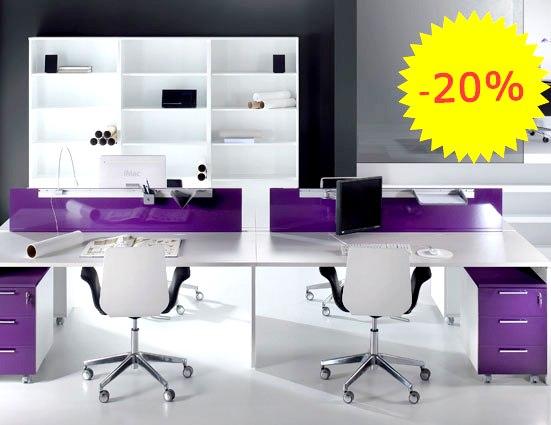 Muebles de oficina programa ofitres panel2000 las for Oferta muebles oficina