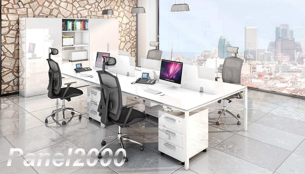 """Nuestra Gama """"De Luxe"""" para muebles de despacho y recepción"""
