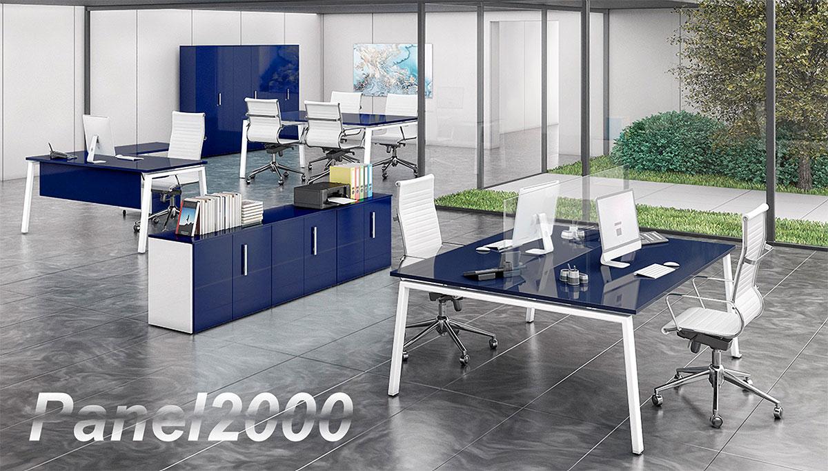 Cómo influye el color azul de la oficina en el trabajo