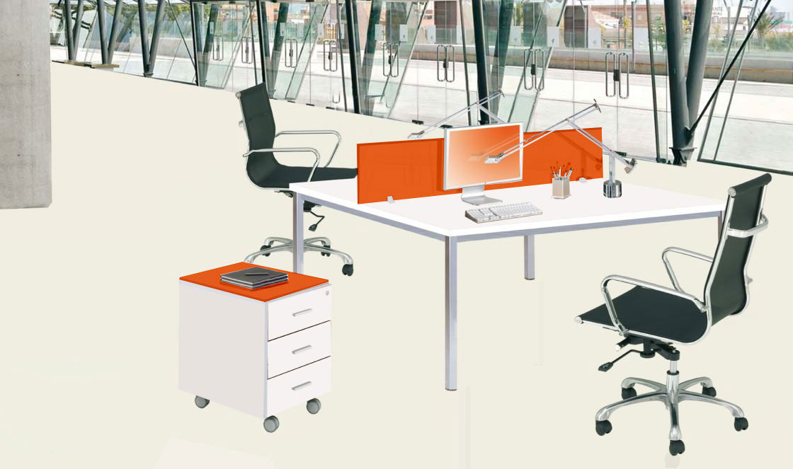 Ofilux 400 disponible en panel2000 las mejores ofertas for Muebles de oficina 2000