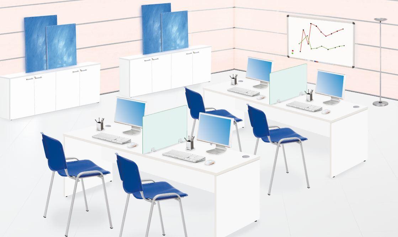 Premium aulas disponible en panel2000 las mejores for Muebles para aulas