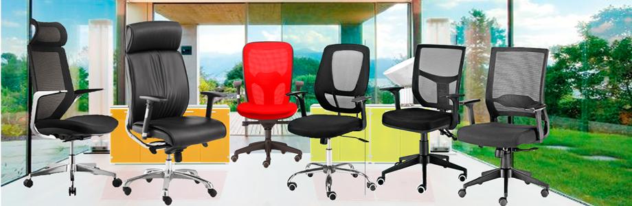 Principales ventajas de las sillas giratorias
